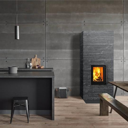 Stufa di design in cucina: Spandrio